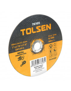 TOLSEN Disque abrasif 115x1.2x22mm a7bce6d46332