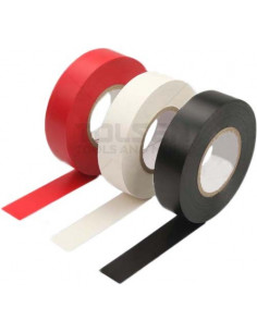 TOLSEN Tape électricien 19x0.13mm rouge 9.15m