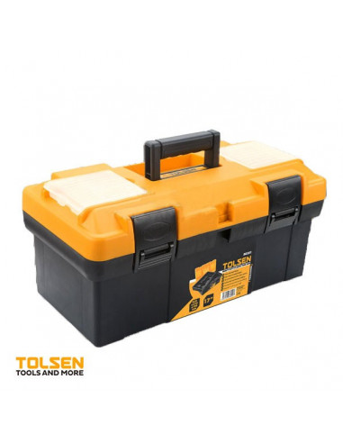 Tolsen caisse outils vide 420x230x190mm hyper brico - Barbecue caisse a outil ...