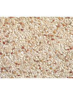 STRADAL Dalle atlas 40 x 40 cm rouge blanc
