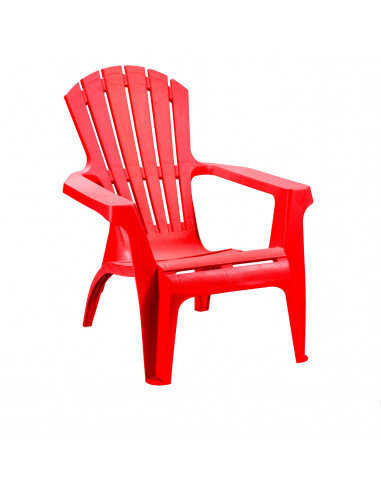 fornord chaise jardin dolomiti rouge hyper brico. Black Bedroom Furniture Sets. Home Design Ideas