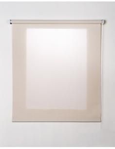 STOR PLANET Store enrouleur transparent beige