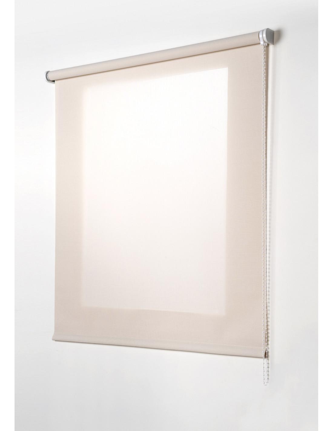 stor planet store enrouleur transparent beige hyper brico. Black Bedroom Furniture Sets. Home Design Ideas