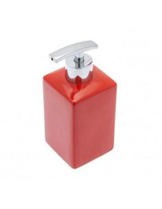 FRANDIS Flacon pompe céramique rouge