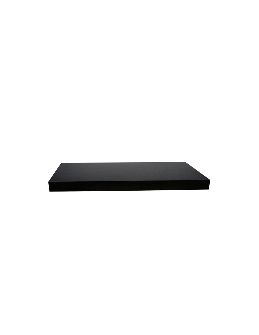 fomax tag re murale 60 x 23 5 x 3 8 cm noir hyper brico. Black Bedroom Furniture Sets. Home Design Ideas