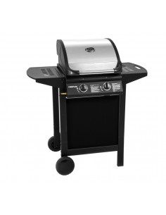 FIREPLUS Barbecue à gaz 2 feux métal