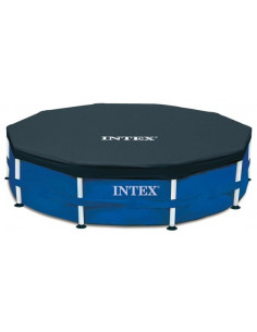 INTEX Bâche piscine tubulaire D366cm