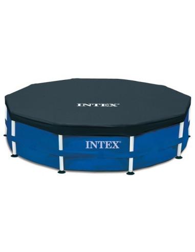 INTEX Bâche piscine tubulaire D366cm