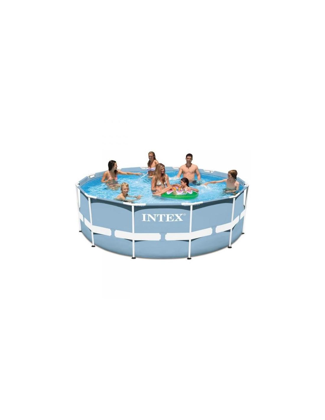 piscine tubulaire h 122 pas cher