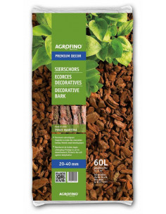 AGROFINO Ecorces de Pin maritime Premium Décor 20/40 mm 60 L