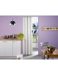 GROSFILLEX Porte extensible PVC UNA Blanc