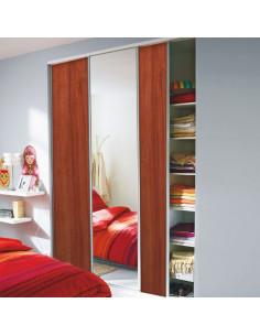 OPTIMUM Lot de 3 vantaux de placard effet meriser et effet miroir 60 x H. 250cm