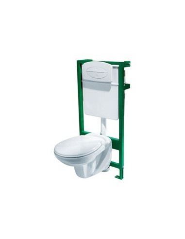 Everest pack wc suspendu hyper brico - Sanitaire wc suspendu ...
