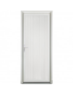 Porte aluminium 900x2200mm gauche