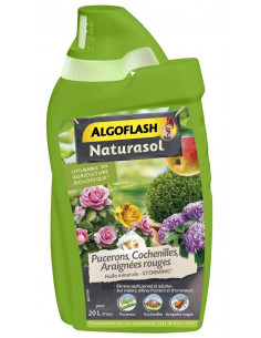 ALGOFLASH Naturasol contre les pucerons, cochenilles, araignées 400 ml
