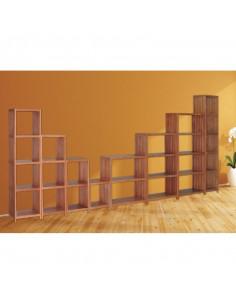 Étagère 3 tablettes eucalyptus 680 x 320 x 790 mm