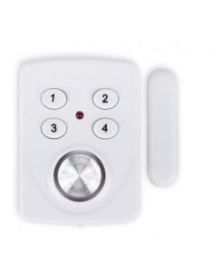 SMARTWARES Mini alarme capteur de porte et fenêtre avec code SC33