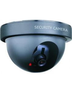SMARTWARES Caméra dôme factice intérieur LED noir CS44D