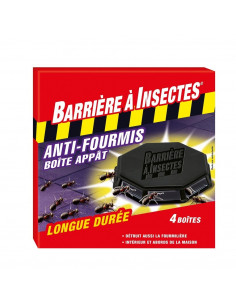 Anti-fourmis lot de 4 boîtes à appât