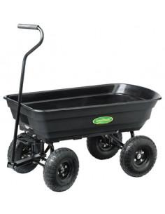 GREEN THUMB Chariot de jardin 225kg max