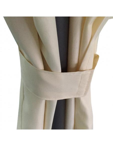 Tonnelle Ø350cm blanc crème