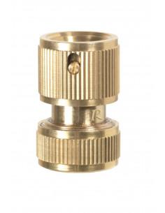 RIBIMEX Raccord rapide Aquastop laiton pour tuyau ø 15 mm