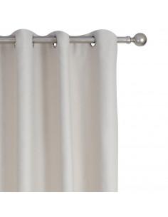 INOVA Occultant Rideau 8 Œillets Polyester Ficelle 136 x 260 cm