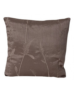 INOVA Jade Coussin Déhoussable Polyester Taupe 40 x 40 cm Garnissage 300 g