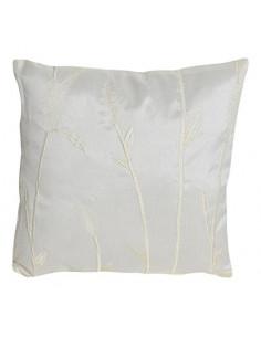 INOVA Jade Coussin Déhoussable Polyester Ivoire 40 x 40 cm Garnissage 300 g