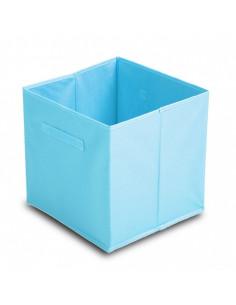 FORNORD Cube de rangement intisse 31x31x31 bleu
