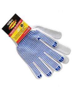 SUPERTITE Gants de protection Coton Enduits PVC M 9