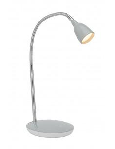 BRILLIANT ANTHONY Lampe à Poser LED Métal/Plastique Chrome/Titane 1 x 3 W 16 x 28 x 40 cm