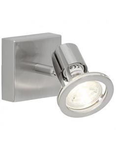 BRILLIANT Spot patère SEDNA LED Métal/Plastique 4 W GU10 Acier/Chrome