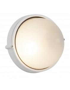 BRILLIANT Applique Extérieure SILVESTER Métal/Verre IP44 60 W E27 230 V Blanc