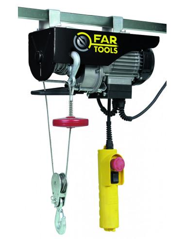 FARTOOLS EP500 Palan Electrique 500 W Charges maxi 250 kg Hauteur de passage maxi 12 mm