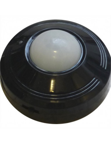 IDK Détecteur de mouvement plafond 360° noir