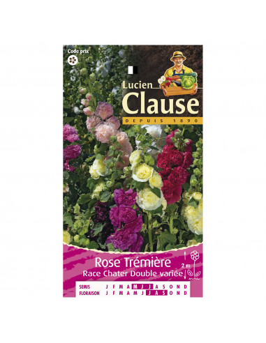 VILMORIN-CLAUSE Rose tremiere double mix *