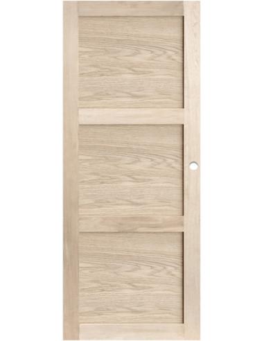 Porte d int rieur coulissante ch ne dim x cm for Porte 83 204