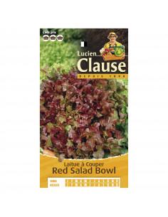 LUCIEN CLAUSE Laitue à couper red salad bowl ***