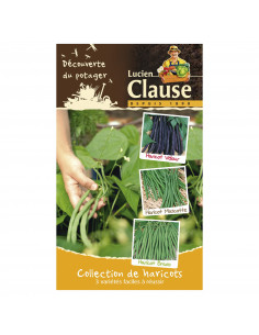 LUCIEN CLAUSE Collection de haricots