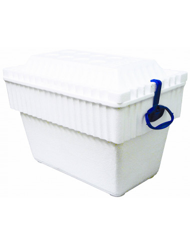 LIFOAM Glacière polyester blanche 40qt 38L