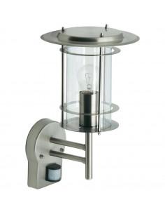 BRILLIANT Applique Extérieur avec détecteur YORK E27 60 W Acier/Plastique Acier