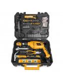INGCO Perceuse 650W + Coffret 101 accessoires