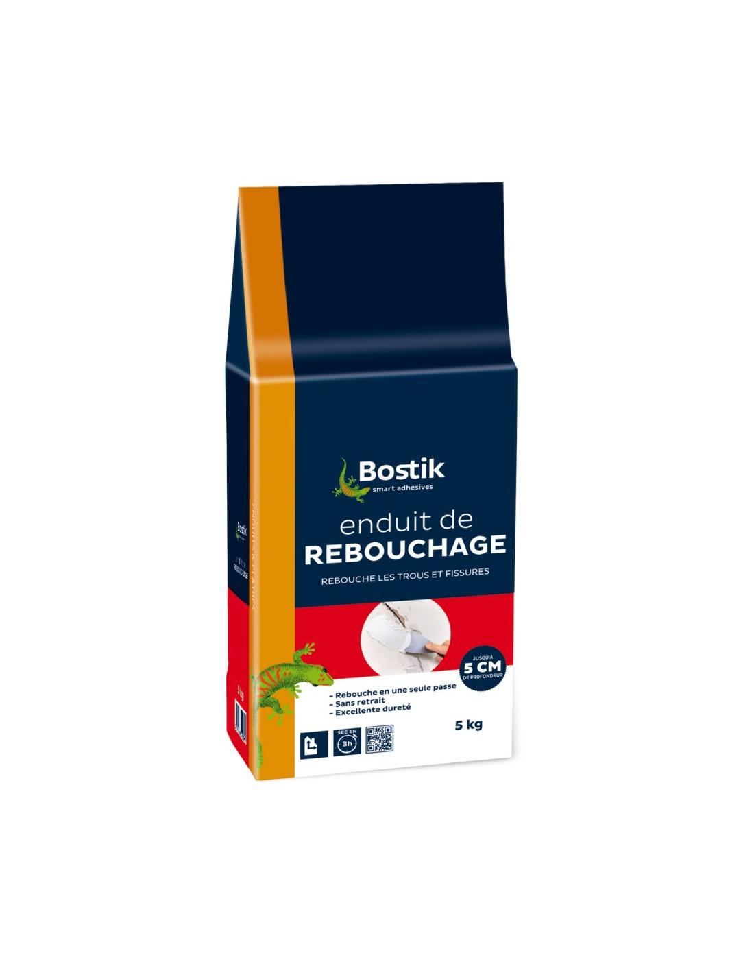 Enduit Souple Pour Bois bostik enduit de rebouchage poudre 5 kg