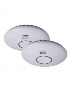 SMARTWARES Lot de 2 détecteurs de fumée sans-fil interconnectable RM174RF