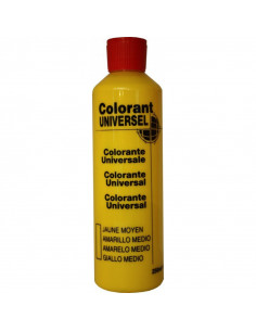 RICHARD COLORANTS Colorant universel  jaune moyen 250ml