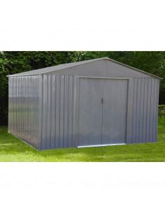 CHALET & JARDIN Abri de jardin métal MJ 10x10 S1001G 9.66 m² 321 x 301 x 205 cm
