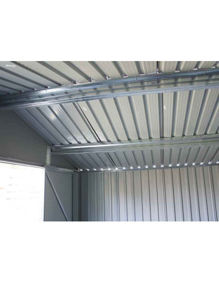 CHALET & JARDIN Abri métal 6x4 S1001A gamme 3