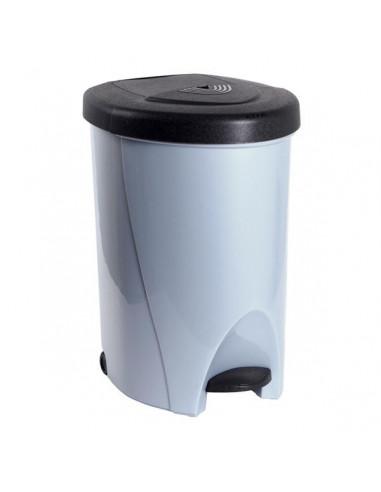 Eda poubelle tri selectif de 60l grise hyper brico - Poubelle pour cuisine ...
