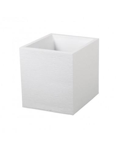EDA Pot carré Graphit blanc cérusé 31L